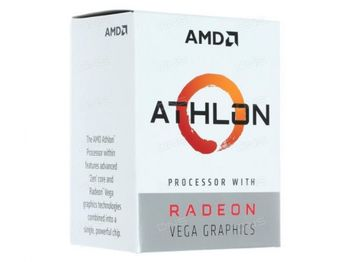 купить APU AMD Athlon 200GE (3.2GHz, 2C/4T, L2 1MB, L3 4MB, 14nm, Vega 3 Graphics, 35W), Socket AM4, Box в Кишинёве