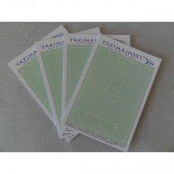 Блокнот для тренера по футболу (4 шт.) Yakimasport 100195