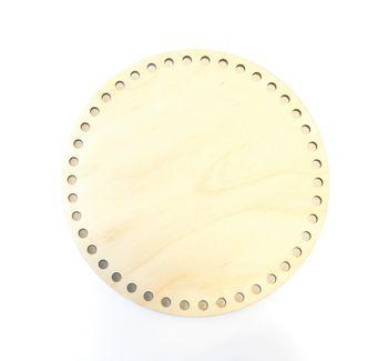 Formă din lemn cerc, 20 cm
