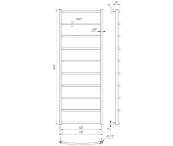 Классик HP 1400x530/500