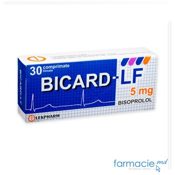 купить Bicard-LF comp. film. 5 mg N10x3  (Lekfarm) в Кишинёве