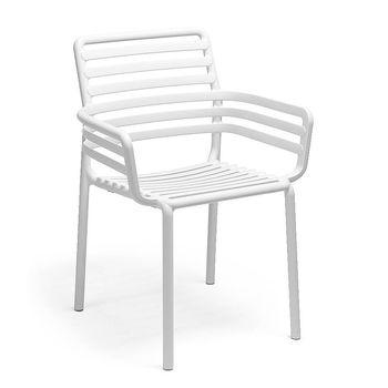 Кресло Nardi DOGA ARMCHAIR BIANCO 40254.00.000 (Кресло для сада и террасы)