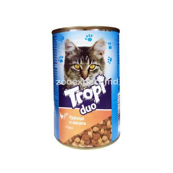 cumpără Tropi Duo în sos de pui și somon 415 gr în Chișinău