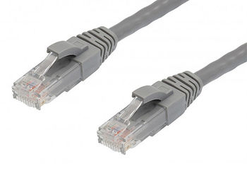1.5m SVEN Patch cord RJ45 UTP CAT5/5e, Grey