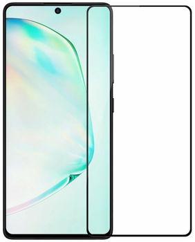 Защитное стекло Cover'X для Samsung S10 Lite/A91 (all glue) Black