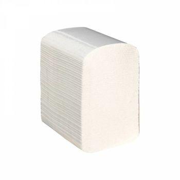 Бумага туалетная листовая белая 2 слоя 200 листов
