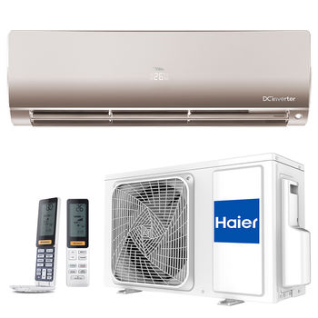 Кондиционер HAIER FLEXIS DC INVERTER AS50S2SF1FA / 1U50S2SM1FA GOLD