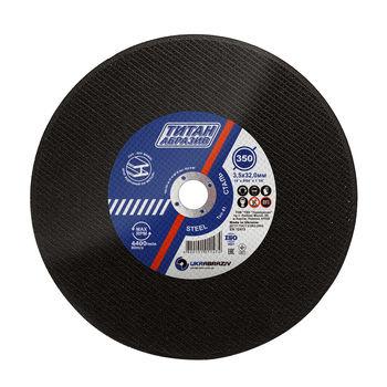 купить Диск зачистной по металлу ТитанАбразив 350x3.5x25.4mm в Кишинёве