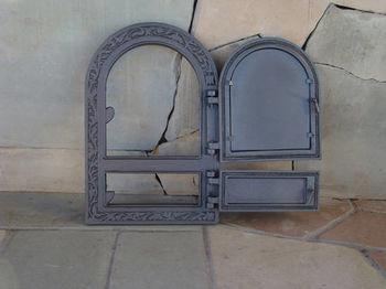 Дверца чугунная глухая правая DW10