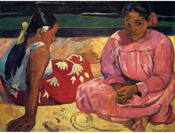 "10362 Trefl Puzzles-""1000 Art Puzzle"" - Women of Tahiti on the beach"