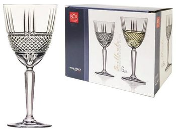Набор бокалов для вина Brilliante 6шт, 230ml