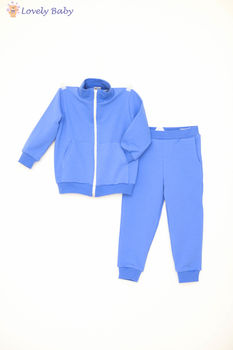 Costum sport S02 albastru