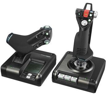 Logitech G Saitek X52 Pro Flight Control System, 945-000003