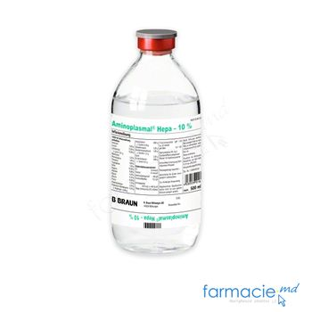 купить Aminoplasmal Hepa 10% sol. perf. 500 ml N1 в Кишинёве