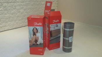 купить Электрический коврик для отопления, ECheat 150S, 2.50 m2, 230 V, 375 W в Кишинёве