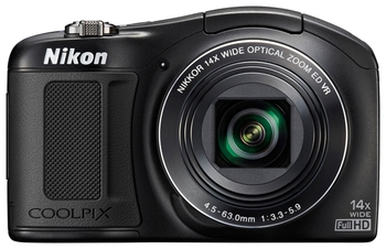 купить Aparat foto digital Nikon COOLPIX L620 Black в Кишинёве