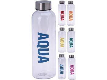 """Бутылка питьевая """"Aqua"""" 0.5l, прозрачная, пластик"""