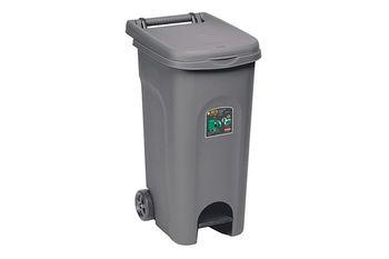 Мусорный бак Urban Eco Stefanplast серый 80 л