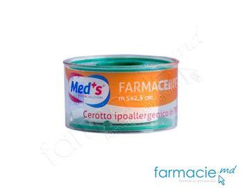 купить Emplastru banda 2.5cmx5m Farmacerotto netesut (2000000941M) (TVA20%) в Кишинёве