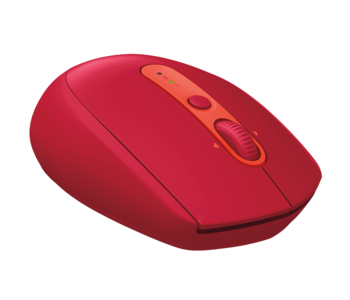 Wireless Mouse Logitech M590 Silent, Red