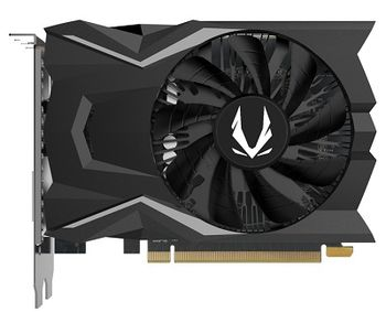 ZOTAC GeForce GTX 1650 OC 4GB DDR5, 128bit, 1695/8000Mhz, Single Fan, DVI, HDMI, DisplayPort, FireStorm, Lite Pack