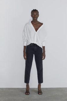 Блуза ZARA Белый 7693/201/250