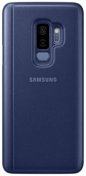 купить Чехол для моб.устройства Samsung EF-ZG965, Galaxy S9+, Clear View Standing Cover, Blue в Кишинёве
