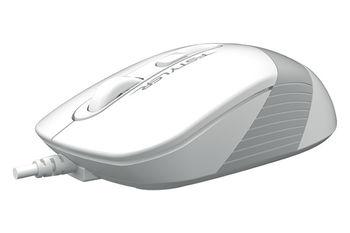 Mouse A4Tech FM10, White/Grey