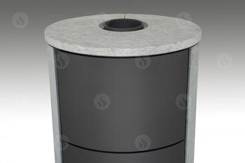 Каминная печь ROMOTOP LUGO 04 W (песчаник) с теплообменником