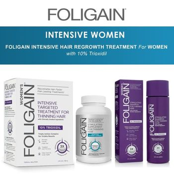 купить FОLIGAIN ADVANCED REGROWTH SHAMPOO MEN & WOMEN в Кишинёве