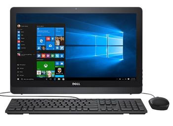"AIl-in-One PC - 21,5"" DELL Inspiron 3264 FHD IPS +Win10, Intel® Core® i3-7100U (Dual Core, 2.40GHz, 3MB), 4Gb DDR4 RAM, 1TB HDD, DVD-RW, lntel® HD Graphics 620, HD Webcam, Wi-Fi-AC/BT4.0, USB KB&MS, W10 Home Ru, McAfee 15 Month, Black"