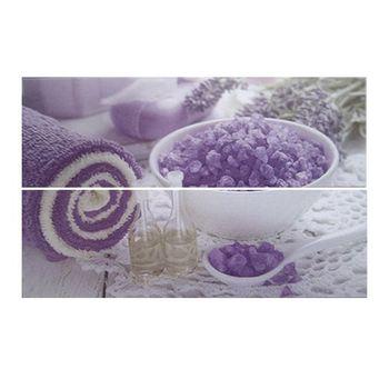 Keros Ceramica Декор Violeta 20x60см 2шт