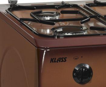 купить Газовая плита Klass T5401G4, Brown в Кишинёве