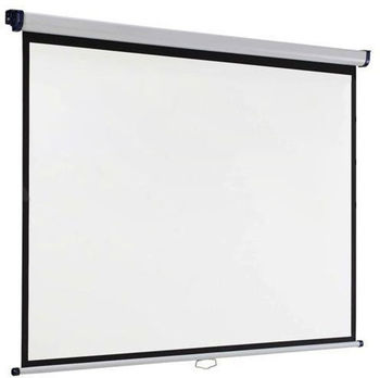 Acer M87-S01MW (JZ.J7400.002) Auto-Lock Manual Projection Screen, 178x178 (1:1) Wall & Ceiling Matt White