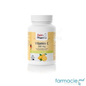 cumpără Vitamina C 500 mg caps. N90 (1 caps/zi) (lamaie) ZeinPharma în Chișinău