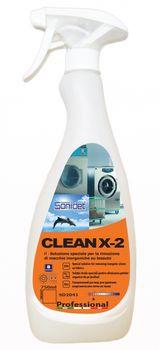 CLEAN X-2 SMACCHIA (750ML) - для удаления неорганических пятен со всех типов тканей