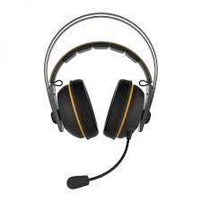 Беспроводная игровая гарнитура Asus TUF Gaming H7, драйвер 53 мм, 32 Ом, 20-20000 Гц, 2,4 ГГц, черный / желтый