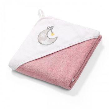 Полотенце махровое Babyono с капюшоном (100x100 см)
