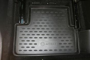 OPEL Astra J 5D 2009->, 4 шт. Коврики в салон
