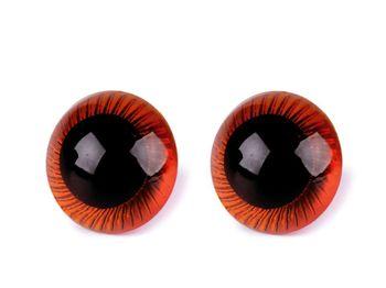 Ochi pentru jucării cu dispozitiv de siguranță, Ø20 mm
