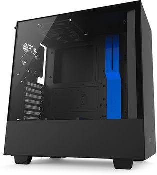 купить Case NZXT H500 Black Blue (CA-H500B-BL) в Кишинёве