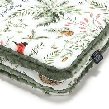 купить Одеялко LaMillou Forest – Khaki (100x80 cm) в Кишинёве