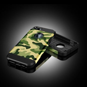 Чехол для iPhone 5 / 5S Tough Armor камуфляж