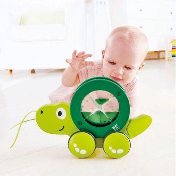 купить Hape Деревянная игрушка каталка Черепаха в Кишинёве
