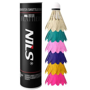 Воланчики цветные (6 шт.) Nils NBL 6216 14-30-133 (5272)