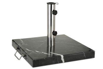 Подставка для зонта 30kg, 45X45cm cmа-мрамор, черная