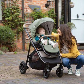 купить Многофункциональная коляска 2 в 1 Joie Versatrax Laurel в Кишинёве