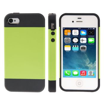 Чехол для iPhone 4 / 4S Tough Armor  зеленый