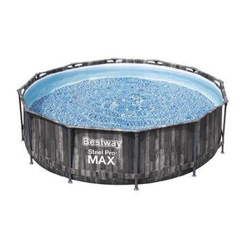 купить Bestway Бассейн метал каркас Steel Pro Max, 366x100 см в Кишинёве