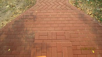купить Bибропрессованная тротуарная плитка  (200x100x60mm) в Кишинёве